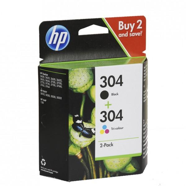 HP 304 Multipack BK+Farbe