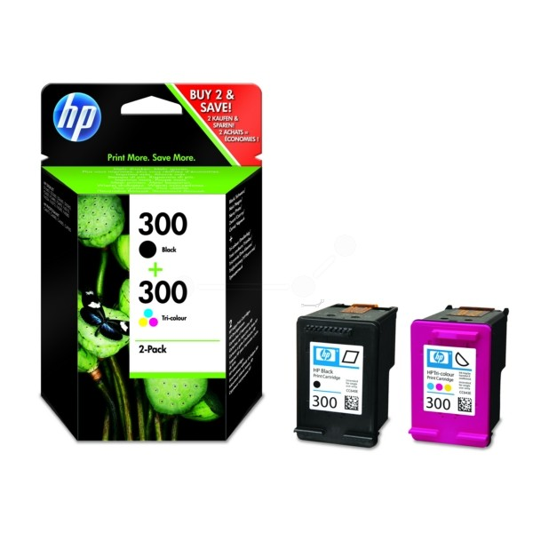 HP 300 Druckkopfpatrone Multipack schwarz + color
