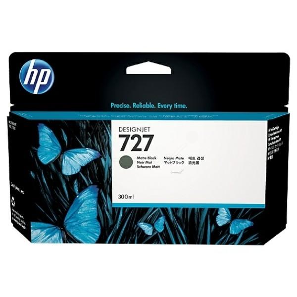 HP 727 Tintenpatrone schwarz matt