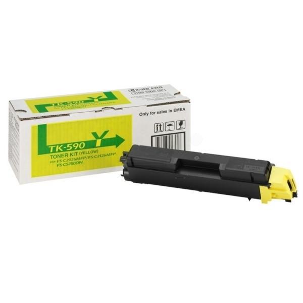 -Kyocera TK-590 Y Toner-Kit gelb